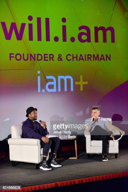 william and Gary Vaynerchuk attend WORLDZ Cultural Marketing Summit 2017 at Hollywood and Highland on July 31 2017 in Los Angeles California