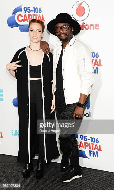 william and Jess Glynne arrive for Capital's Summertime Ball at Wembley Stadium on June 11 2016 in London England