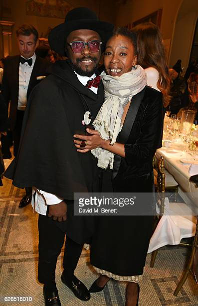 william and Noma Dumezweni attend as PORTER hosts a special performance of Letters Live in celebration of their Incredible Women of 2016 at The VA on...