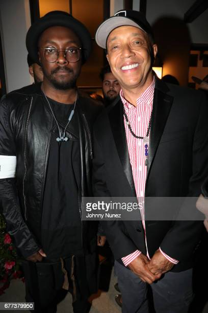 william and Russell Simmons attend the 2nd Annual Art For Life Los Angeles at a private residence on May 2 2017 in West Hollywood California
