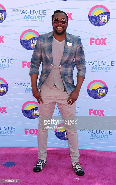william arrives at the 2012 Teen Choice Awards at Gibson Amphitheatre on July 22 2012 in Universal City California