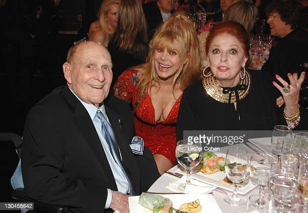 William Asher Charo and Carole Cook during 5th Annual TV Land Awards Backstage at Barker Hangar in Santa Monica California United States