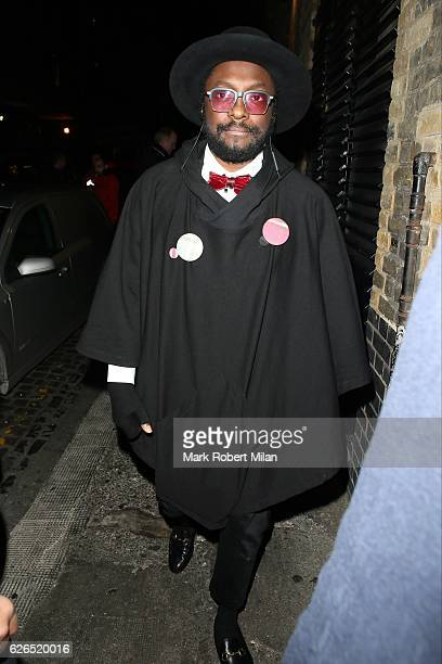 william at the Chiltern Firehouse on November 29 2016 in London England