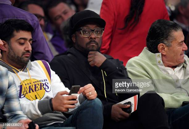 william attends a basketball game between Houston Rockets and Los Angeles Lakers at Staples Center on February 6 2020 in Los Angeles California NOTE...