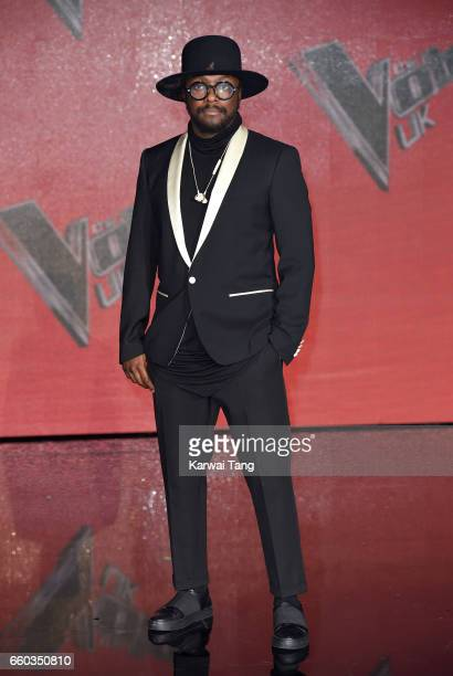 william attends a photocall for the final of The Voice UK at LH2 on March 29 2017 in London United Kingdom