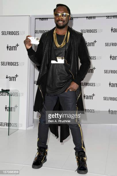 William attends a photocall to launch his range of iam camera accessories for the iPhone at the Fashion Retail Academy on November 28 2012 in London...