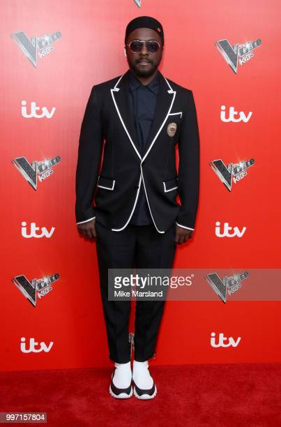 William attends a photocall to launch season 2 of 'The Voice Kids' at Madame Tussauds on July 12 2018 in London England