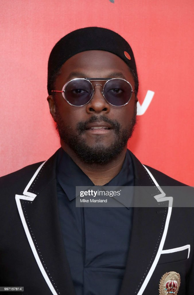 Will.i.am attends a photocall to launch season 2 of 'The Voice: Kids' at Madame Tussauds on July 12, 2018 in London, England.
