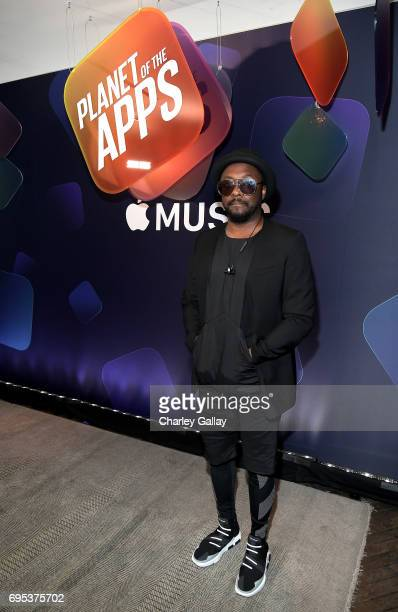 william attends Apple Music's Planet of the Apps Party at Soho House on June 12 2017 in West Hollywood California