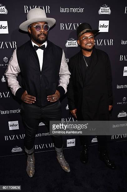 "Will.i.am attends Harper's Bazaar's celebration of ""ICONS By Carine Roitfeld"" presented by Infor, Laura Mercier, and Stella Artois at The Plaza Hotel..."