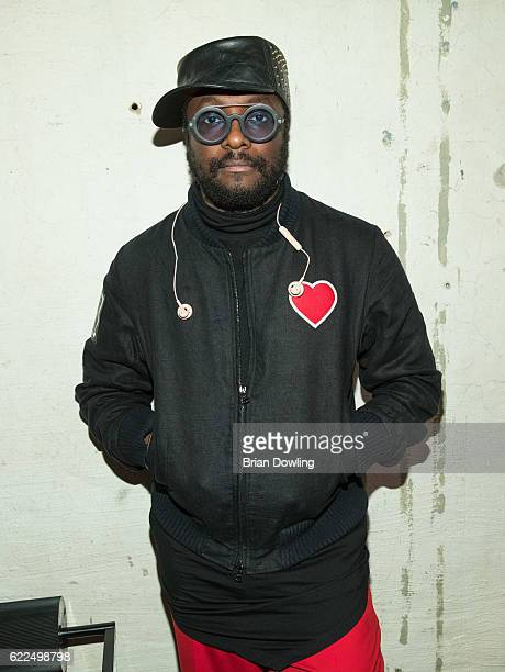 william attends his launch party for iam headphones at Voo on November 11 2016 in Berlin Germany