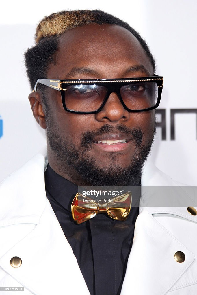 Will.i.am attends the 2nd Annual Will.i.am TRANS4M Boyle Heights benefit concert held at Avalon on February 7, 2013 in Hollywood, California.