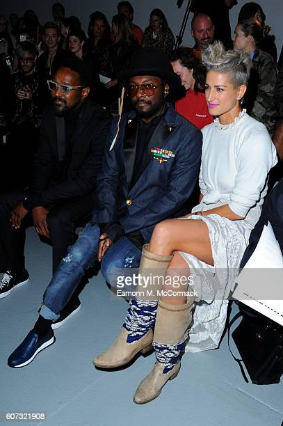 William attends the Gareth Pugh show during London Fashion Week Spring/Summer collections 2017 on September 17 2016 in London United Kingdom