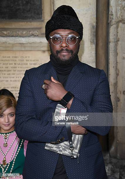 william attends the Gucci Cruise 2017 fashion show at the Cloisters of Westminster Abbey on June 2 2016 in London England