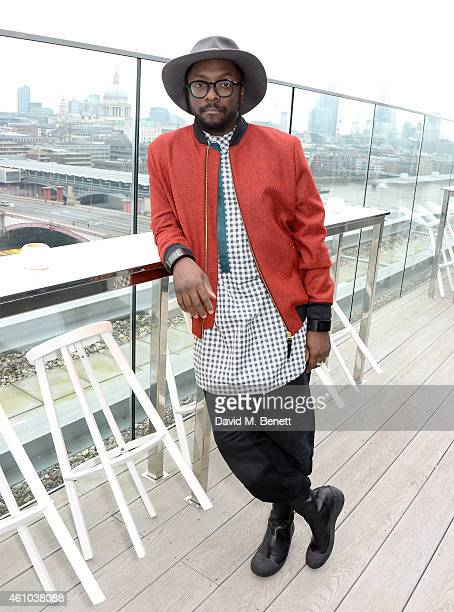 William attends the launch of The Voice UK Series 4 at The Mondrian Hotel on January 5 2015 in London England