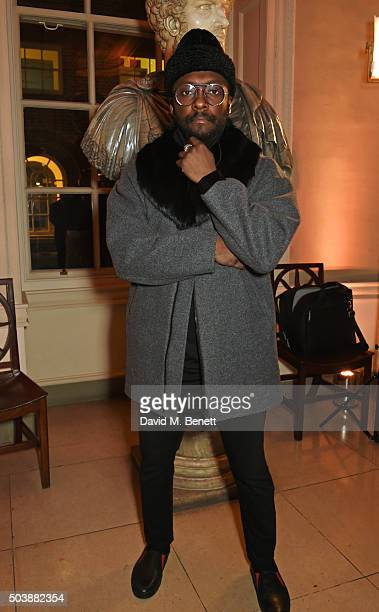 william attends the London Collections Men AW16 opening party hosted by the British Fashion Council and GQ Editor Dylan Jones at Spencer House on...