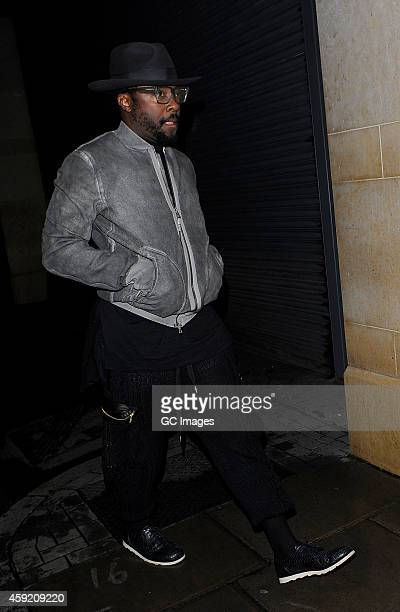 william attends the London debut club opening of BonBonnaire on November 18 2014 in London England