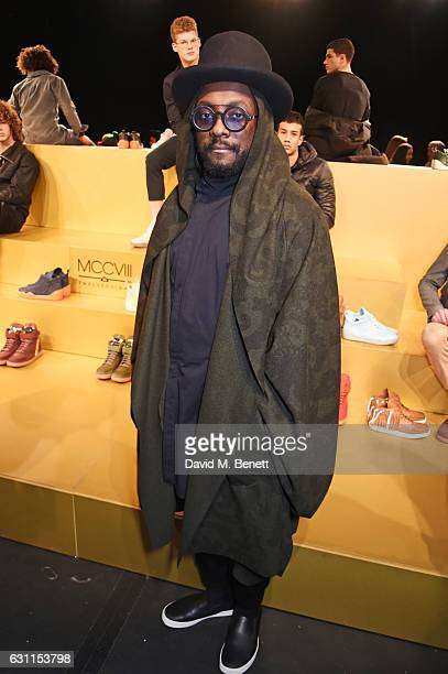 william attends the MCCVIII presentation during London Fashion Week Men's January 2017 collections at Institute Of Contemporary Arts on January 7...
