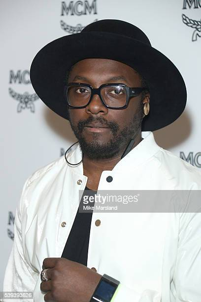 Will.i.am attends the MCM X Christopher Raeburn show during The London Collections Men SS17 at on June 11, 2016 in London, England.
