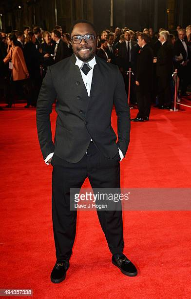 William attends the Royal World Premiere of 'Spectre' at Royal Albert Hall on October 26 2015 in London England