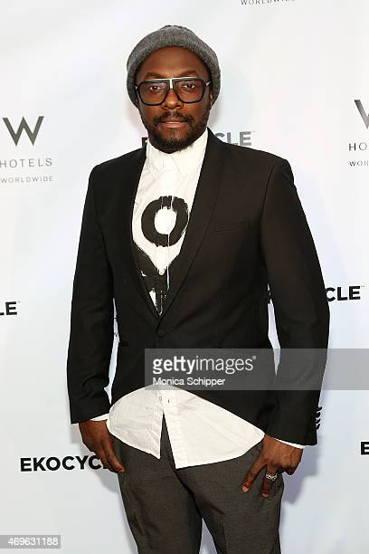 william attends the 'W Hotels Collaboration With william Ekocycle Kick Off' at W New York on April 13 2015 in New York City