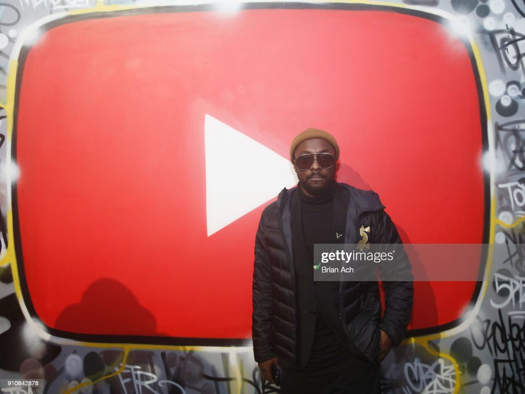 will.i.am attends YouTube brings the BOOM BAP BACK to New York City With Lyor Cohen, Nas, Grandmaster Flash, Q-Tip, Chuck D and Fab 5 Freddy on January 26, 2018 at Industria in New York City.