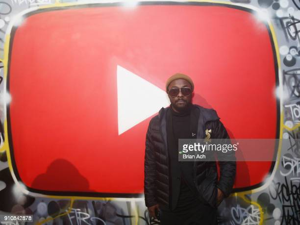 william attends YouTube brings the BOOM BAP BACK to New York City With Lyor Cohen Nas Grandmaster Flash QTip Chuck D and Fab 5 Freddy on January 26...