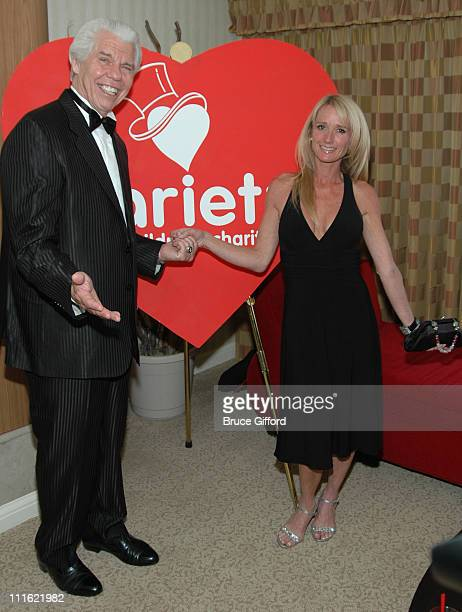 William Austin and Kim Richards during Variety International The Children's Charity Honors William Austin as 'Humanitarian Of The Year' at Bally's...