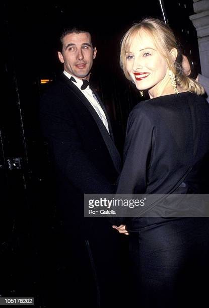 William Baldwin and Chynna Phillips during Wedding of Mariah Carey and Tommy Mottola at St Thomas Episcopal Church/Metropolitan Club in New York City...