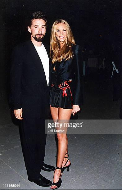 William Baldwin and Elle Macpherson during 1994 MTV Movie Awards in Los Angeles California United States