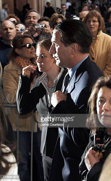 William Baldwin arrives at the Memorial for Dana Reeve at the New Amsterdam Theatre on March 10 2006 in New York City Dana Reeve wife of the late...