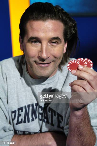 William Baldwin during Celebrity Blackjack Matt Vasgersian hosts Celebrity Blackjack a one hour weekly tournament featuring 40 stars competing for a...