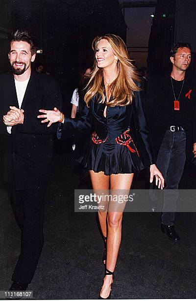 William Baldwin Elle Macpherson during 1994 MTV Movie Awards in Los Angeles California United States