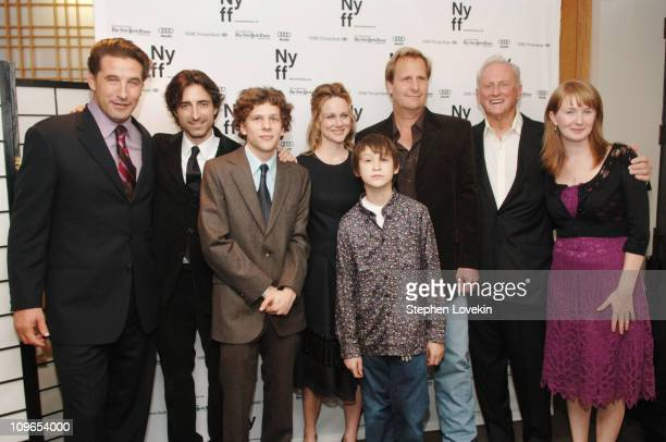William Baldwin Noah Baumbach director Jesse Eisenberg Laura Linney Owen Kline Jeff Daniels Samuel Goldwyn Jr and Halley Feifer