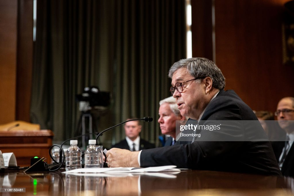 Attorney General William Barr Testifies Before Senate Appropriations Subcommittee : News Photo
