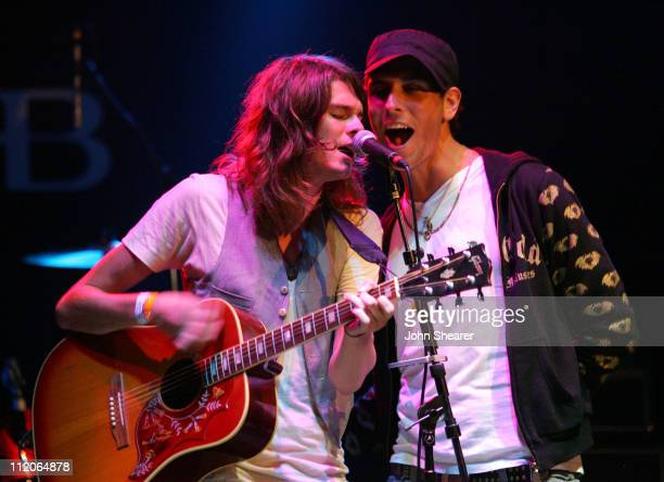 William Beckett of The Academy Is and Gabe Saporta of Cobra Starship