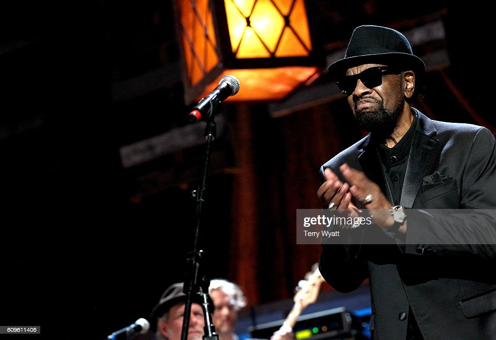 William Bell accepts the Lifetime Achievement for Songwriting Award onstage at the Americana Honors & Awards 2016 at Ryman Auditorium on September 21, 2016 in Nashville, Tennessee. at Ryman Auditorium on September 21, 2016 in Nashville, Tennessee.
