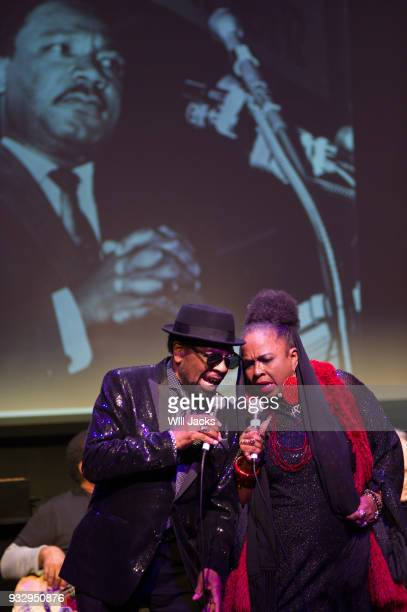 William Bell and Betty Wright celebrate Dr Martin Luther King at GRAMMY Museum Mississippi on March 16 2018 in Cleveland Mississippi