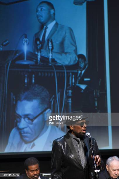 William Bell celebrates the leaders of the Civil Rights Movement at GRAMMY Museum Mississippi on March 16 2018 in Cleveland Mississippi