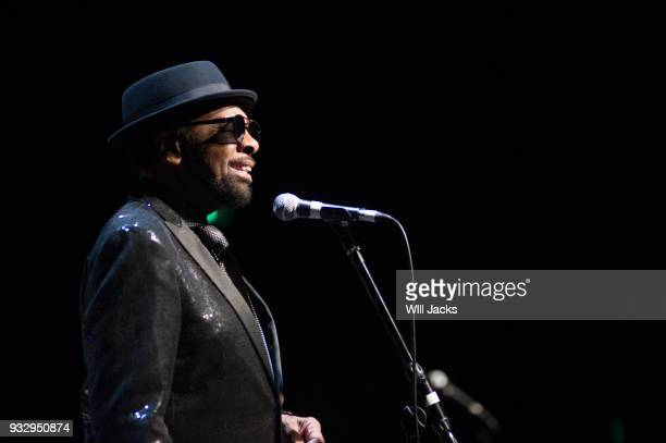 William Bell greets the audience at GRAMMY Museum Mississippi on March 16 2018 in Cleveland Mississippi