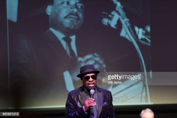 William Bell sings at GRAMMY Museum Mississippi on March 16 2018 in Cleveland Mississippi