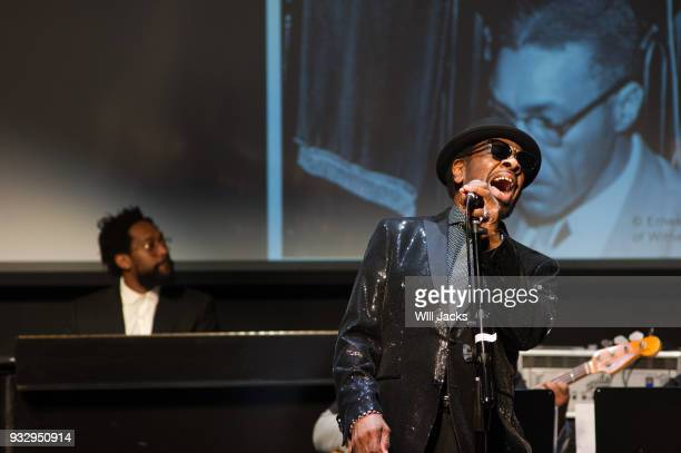 William Bell wows the audience at GRAMMY Museum Mississippi on March 16 2018 in Cleveland Mississippi