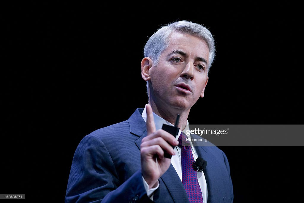 Herbalife Plunges As Ackman Vows To Unveil Enron-Like Fraud : News Photo