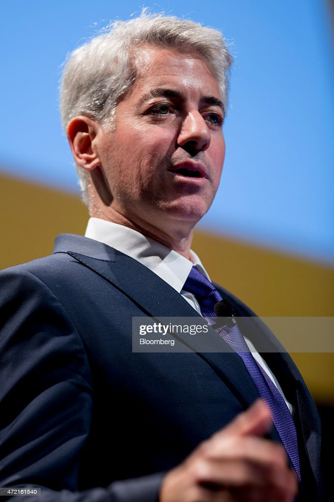 William 'Bill' Ackman, founder and chief executive officer of Pershing Square Capital Management LP, speaks during the 20th Annual Sohn Investment Conference in New York, U.S., on Monday, May 4, 2015. Since 1996 the Sohn Investment Conference has brought together the world's savviest investors to share fresh insights and strategies in support of pediatric cancer research and treatment. Photographer: Andrew Harrer/Bloomberg via Getty Images