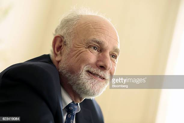 William 'Bill' Baer principal deputy associate attorney general at the US Department of Justice smiles during an interview at Palacio San Martin in...