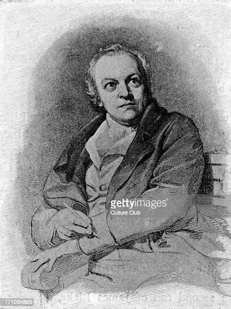 William Blake British poet painter and engraver after the portrait by T Phillips 22 November 1757 12 August 1827