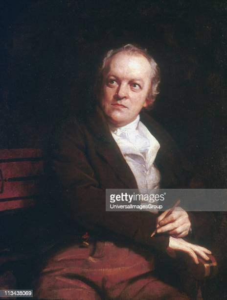 William BLAKE English mystic poet artist and engraver 1807 portrait by Thomas Phillips National Portrait Gallery London