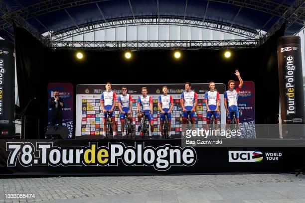 William Bonnet of France, Clément Davy of France, Antoine Duchesne of Canada, Fabian Lienhard of Switzerland, Romain Seigle of France, Jake Stewart...