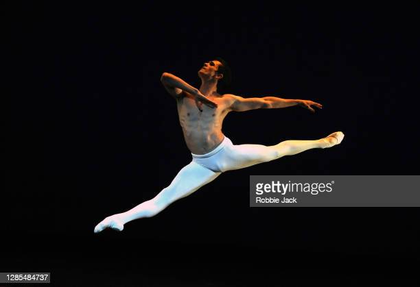 William Bracewell in The Royal Ballet's production of Dance of the Blessed Spirits at The Royal Opera House on November 12, 2020 in London, England.