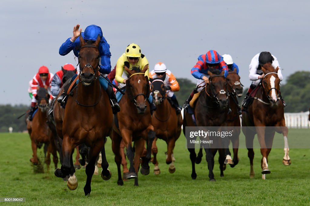 William Buick and Rare Rhythm wins the Duke of Edinburgh Stakes on Day Four of Royal Ascot at Ascot Racecourse on June 23, 2017 in Ascot, England.